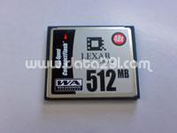 レキサー CF 512MB