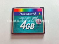 トランセンド コンパクトフラッシュ 4GB