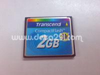 トランセンド コンパクトフラッシュ 2GB