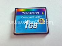 トランセンド コンパクトフラッシュ 1GB