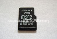 Toshiba マイクロ SD SD-C01G