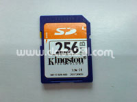 Kingston SD 256MB
