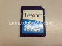 レキサーメディア SD 2GB