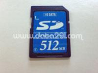 アイオーデータ SD 512MB