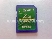 バッファロー SD 2GB