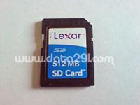 レキサーメディア SD 512MB