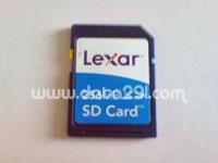 レキサー SDメモリ 256MB