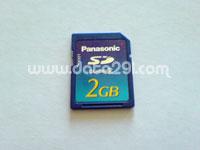 パナソニック SD 2GB