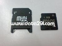 N/B miniSD 1GB