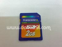 トランセンド SD 2GB