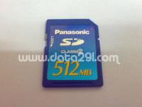 パナソニック SD 512MB
