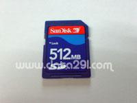 サンディスク SD 512MB
