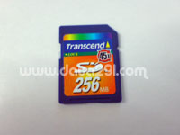 トランセンド SD 256MB