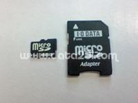 IO Data マイクロ SD