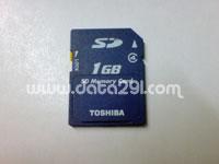 Toshiba SD 1GB