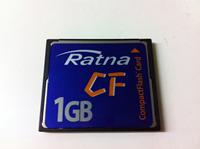 CF データ復旧