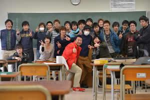 福井高専の学生たちと