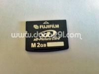 フジフイルム xd 2GB