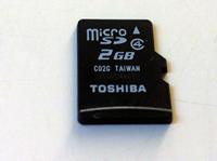 TOSHIBA MicroSD